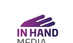 Logo InHand vertikální pozitivní