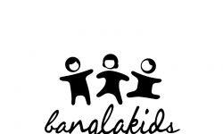Logo BanglaKids černé